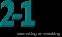 2-1 counseling en coaching en psychosociale hulpverlening Logo